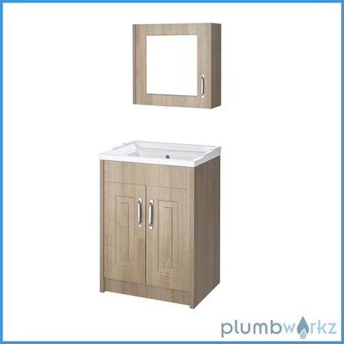 Traditional bathroom cabinet basin vanity unit cabinet for Bathroom cabinets 600mm