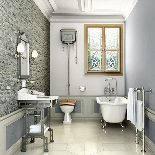 Traditional Full Bathroom Suites Packages