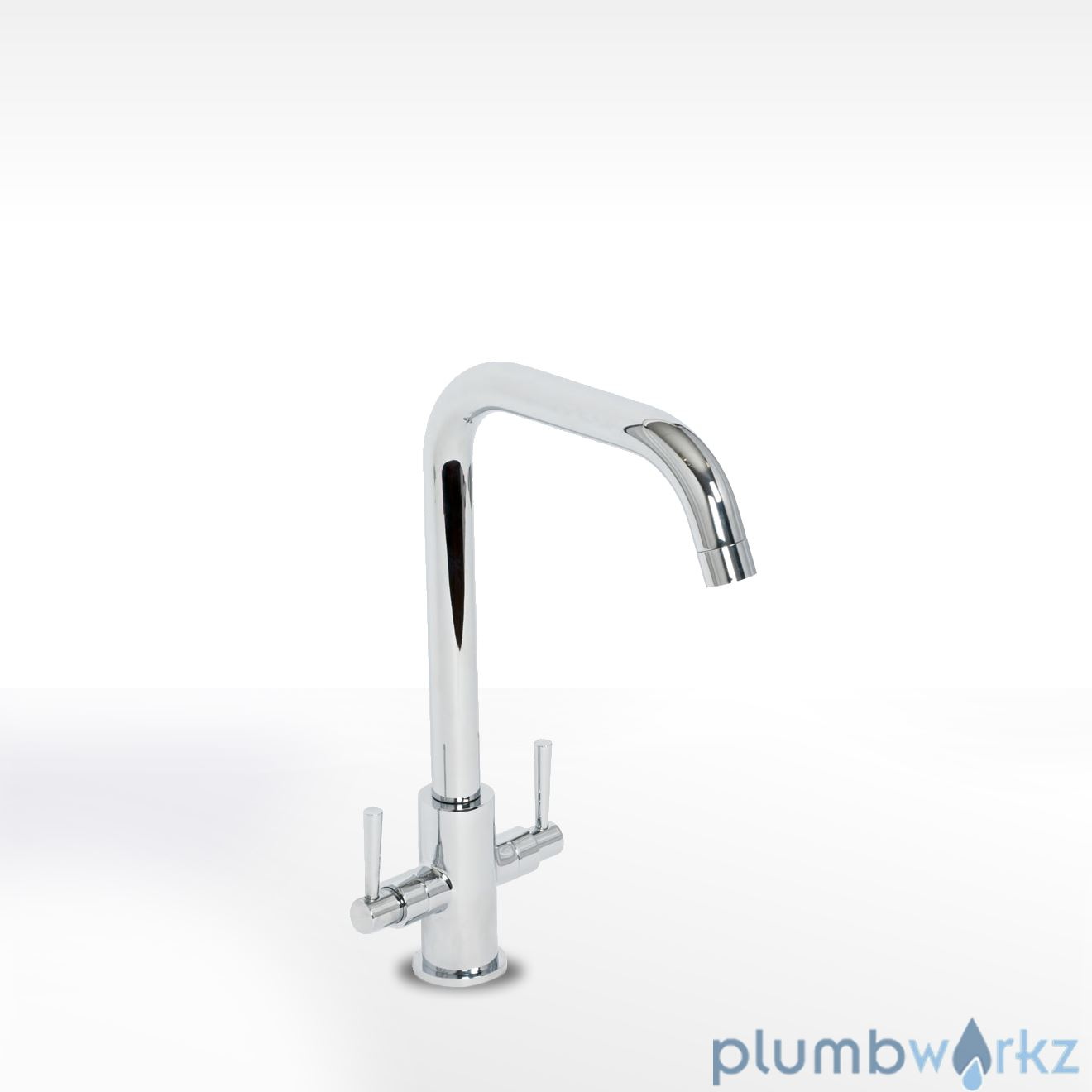 Don Twin Lever Mixer Tap