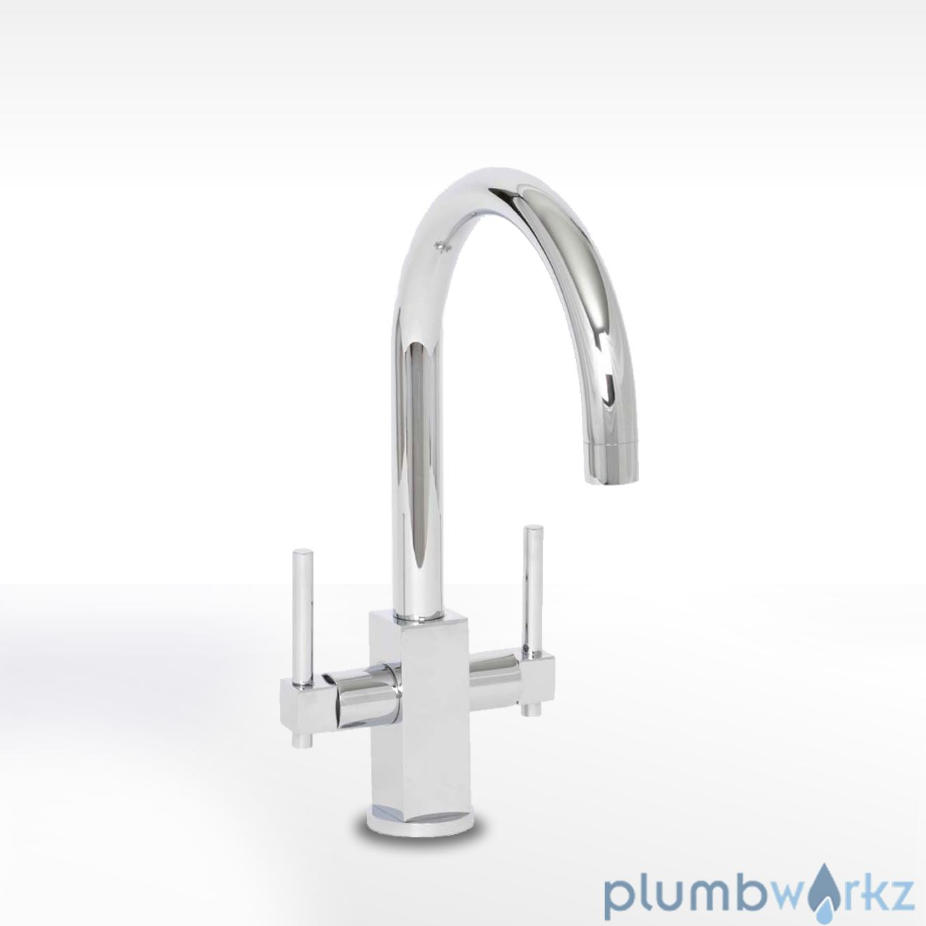 Crail Twin Lever Mixer Tap