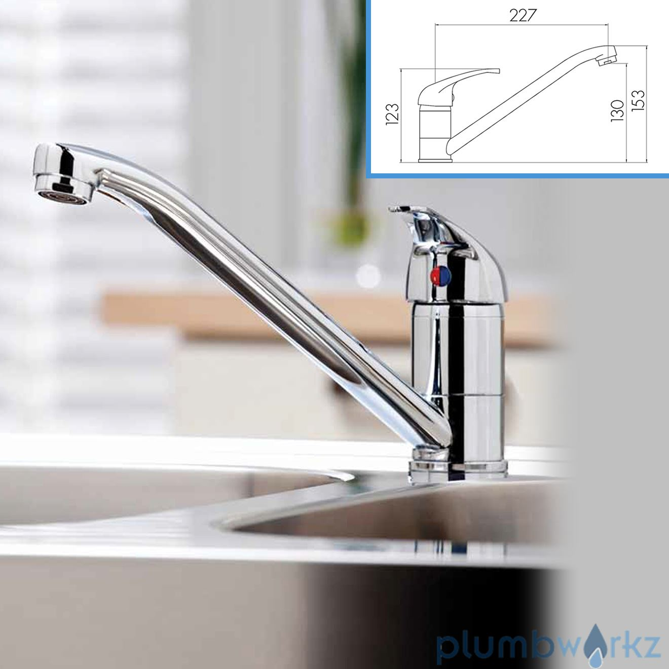 Arruba Kitchen Tap