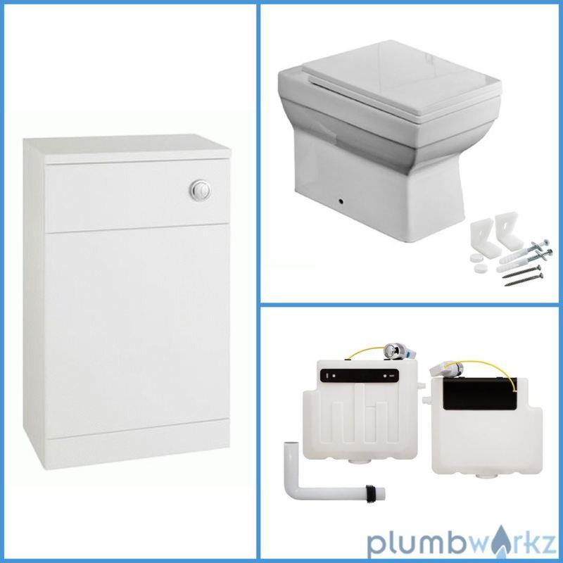 Cubic BTW Toilet & 600mm Unit