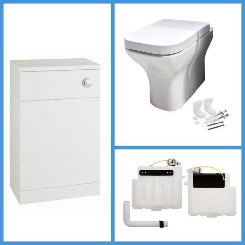 600mm WC Unit with Porto BTW Toilet
