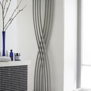 High Gloss Silver Xcite Designer Radiator
