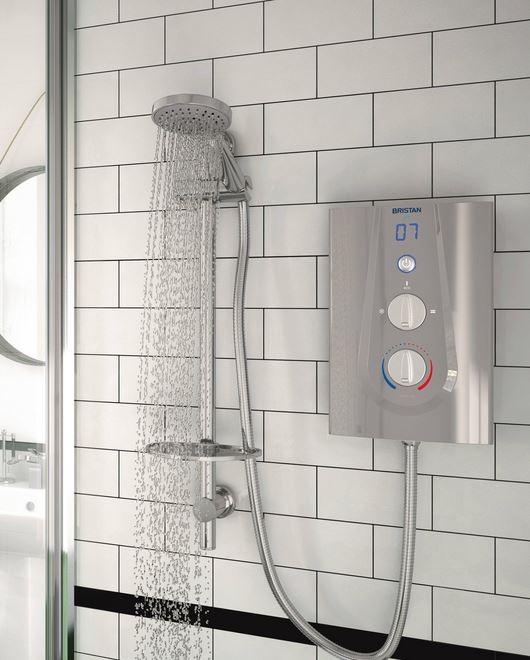 Joy in shower