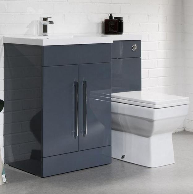 Anthracite Bathroom Furniture With Toilet