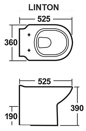 500 & 600mm Vanity Unit & WC Pack
