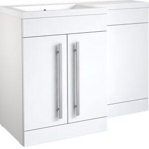 White Bathroom Furniture With Toilet