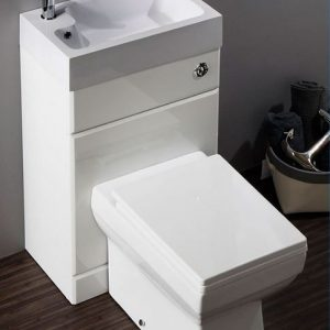 Back to Wall WC/Basin Unit Combination Unit