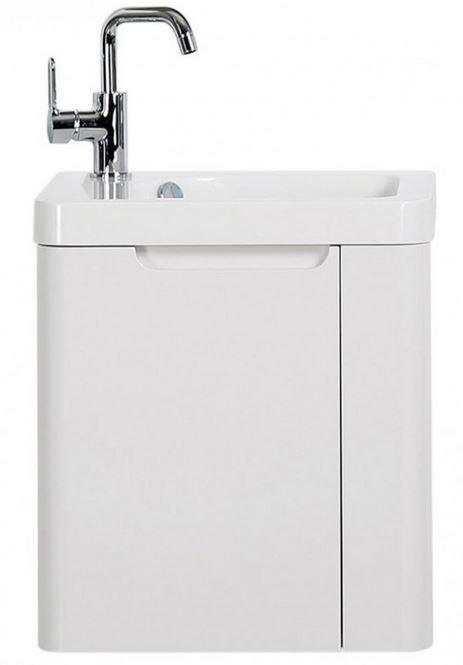450MM Gloss White Vanity Unit And Basin