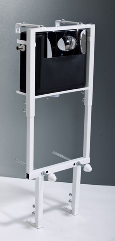 Height Adjustable Concealed Cistern Wall Frame Plumbworkz