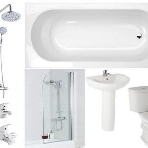 Appleby 1700 Complete Bath Shower Package
