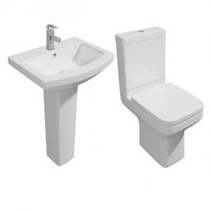 Trim Modern 4 Piece Toilet & Basin Set