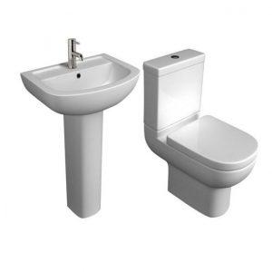Studio Modern 4 Piece Toilet & Basin Set