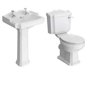 Traditional Legend Toilet & Basin Set