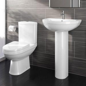 Modern Toilet & Basin Sets