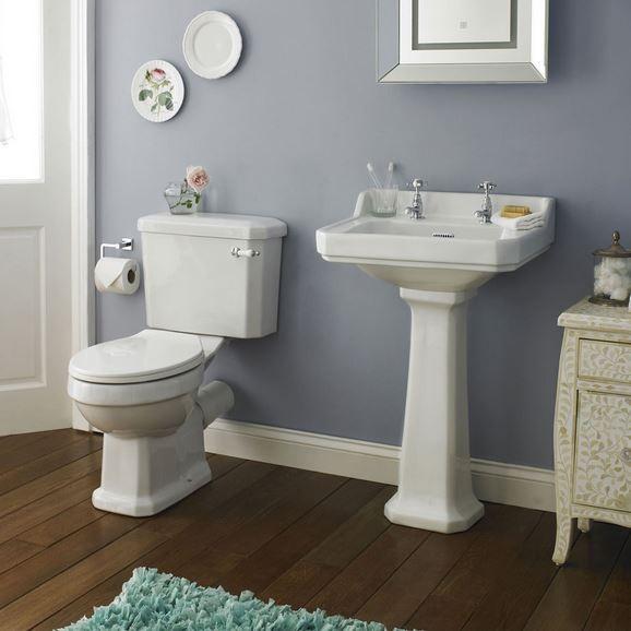 Traditional Toilet & Basin Set