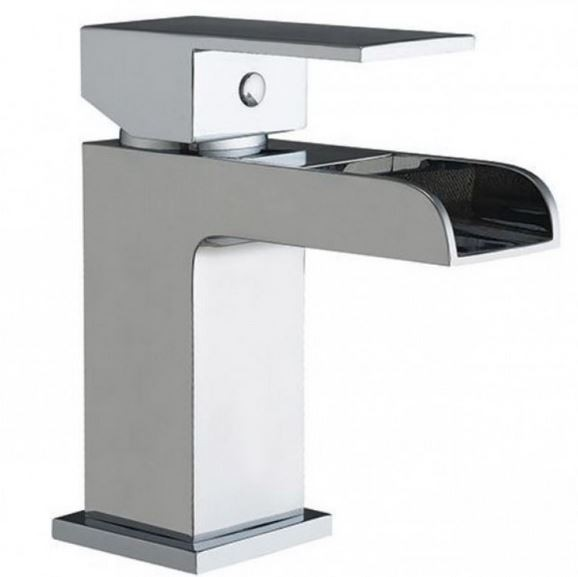 Waterfall Mono Basin Mixer with Waste