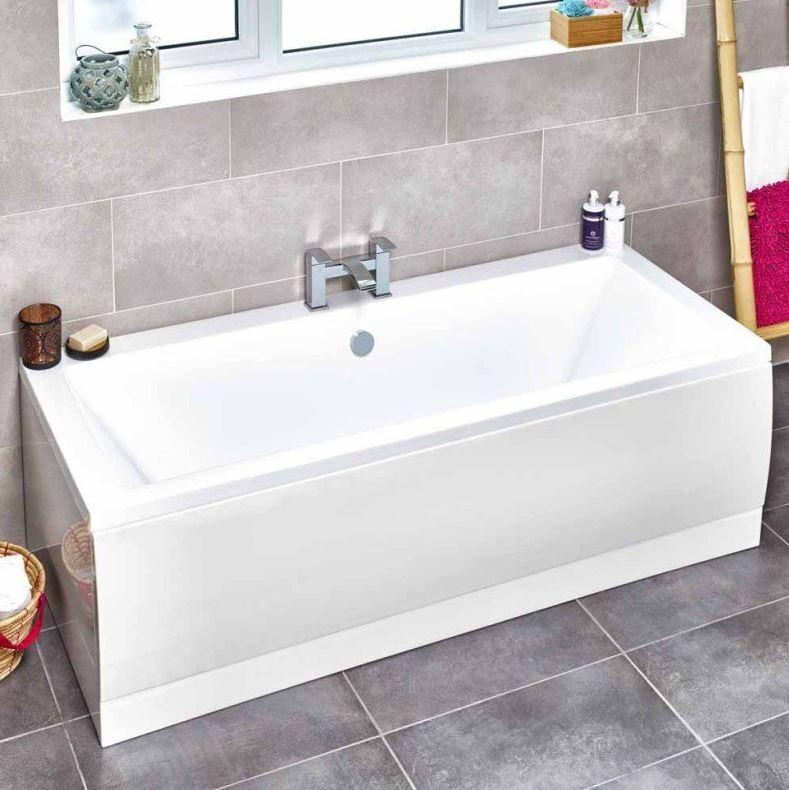 Square Doble Ended Bath