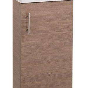 Oak 400mm Vanity Unit with Basin