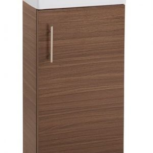 Walnut 400mm Vanity Unit with Basin