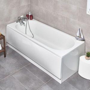 Modern Round Single Ended Bath 1500mm - 1800mm