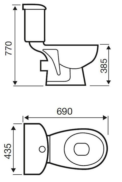 Appleby 1700 Complete Bathroom Package