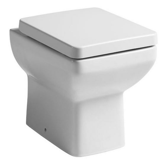 Tavitock Q60 460mm Short Projection Back To Wall Pan With Premium Soft Close Seat