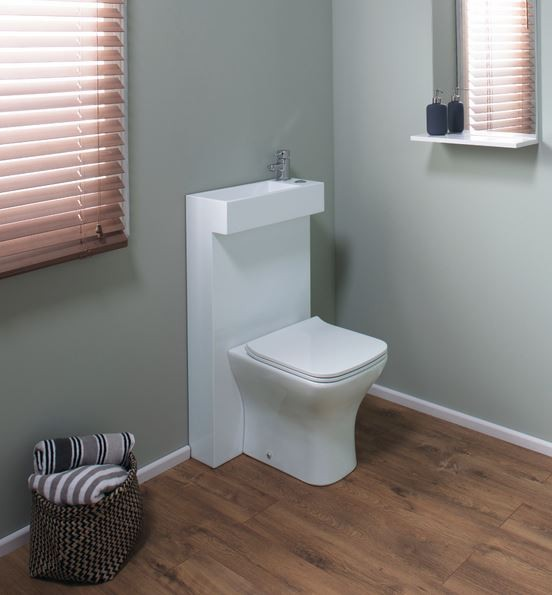 All In One Polymarble Shroud With Integrated Basin