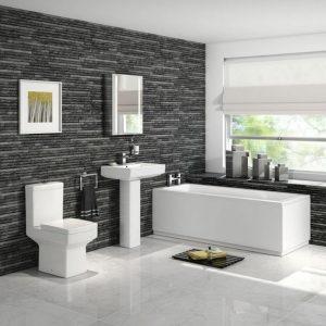 Standard Full Bathroom Suites Packages