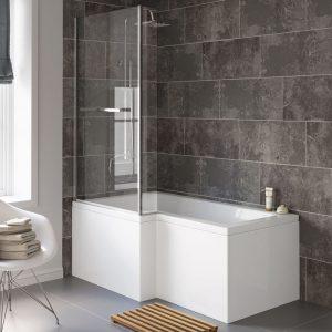 L Shape Shower Baths